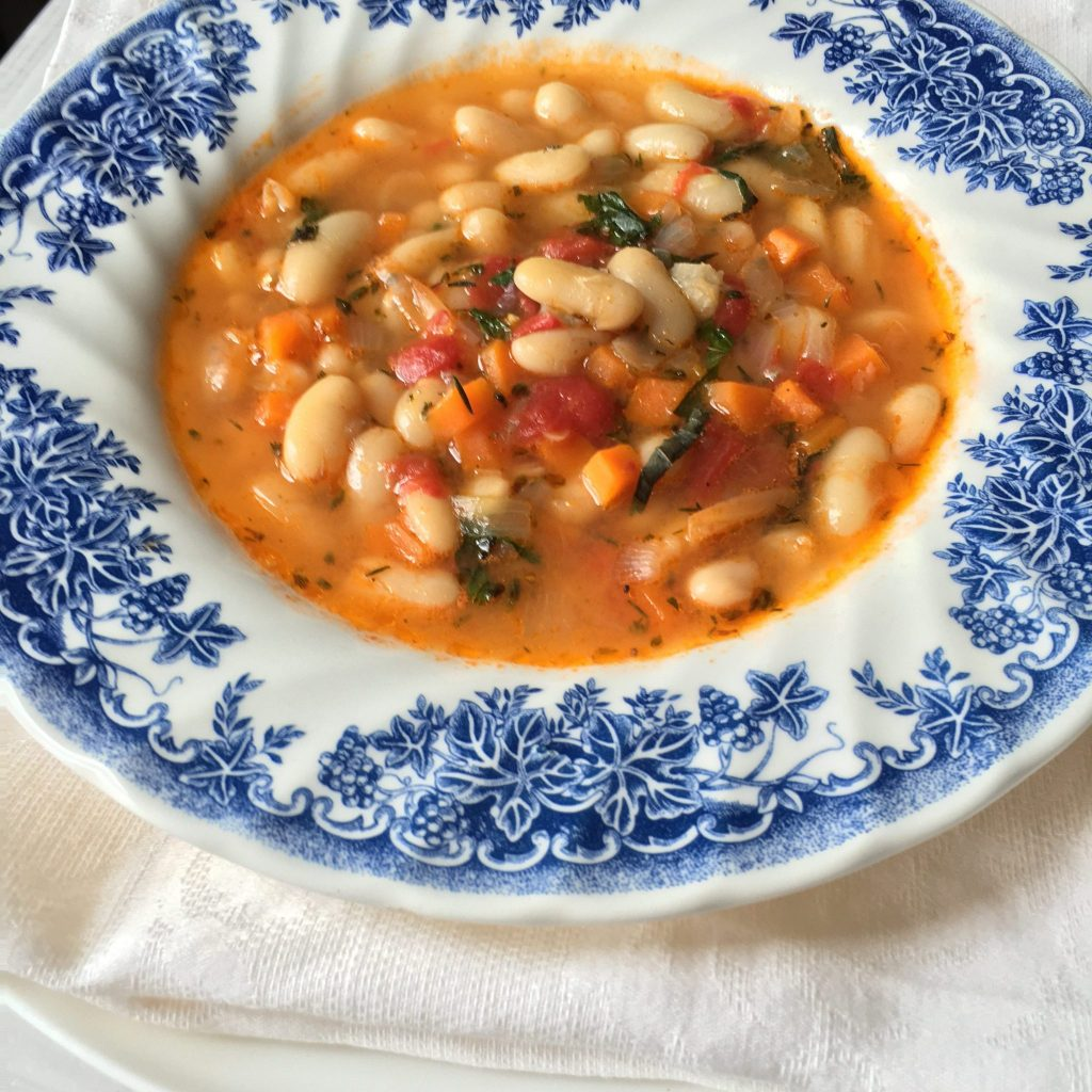 Another key recipe in Bulgarian cuisine. Slowly cooked, spiced with spearmint, rich in flavor. Simple, yet especially loved meal. Bulgarian beans soup - Soo Tasty with Soo Foodies!