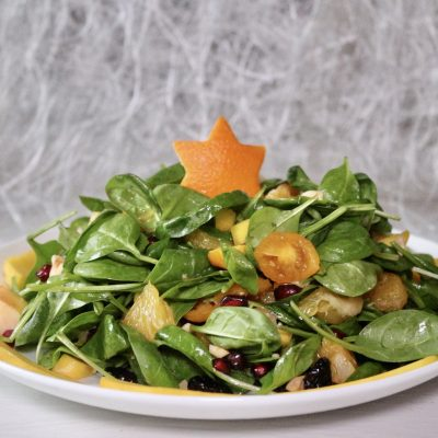soofoodies exotic christmas tree salad