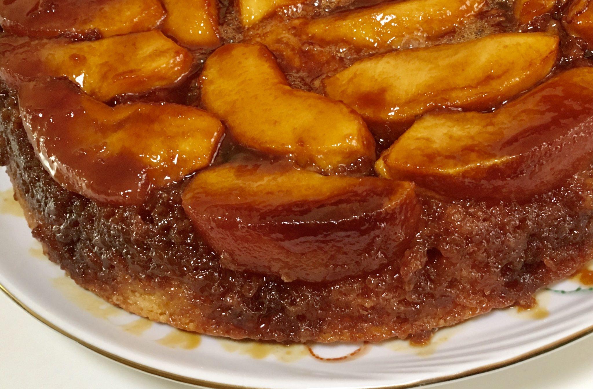 apple caramel cake dessert soofoodies