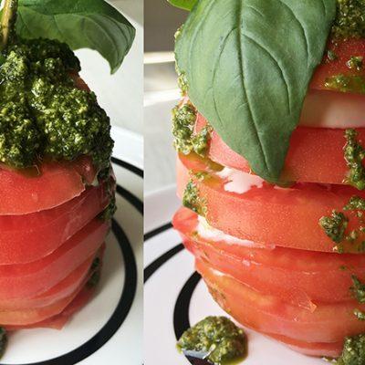 soofoodies caprese salad salad