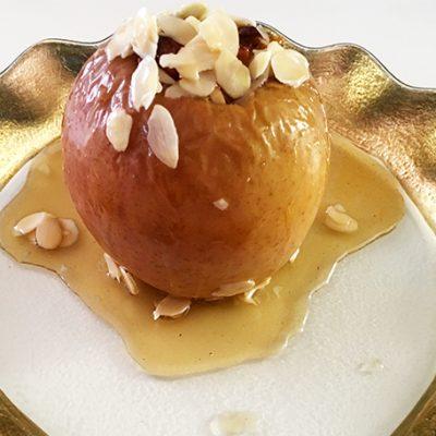 soofoodies stuffed baked apples dessert