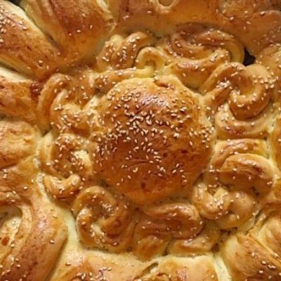 soofoodies sunny round loaf pitka all thе dough