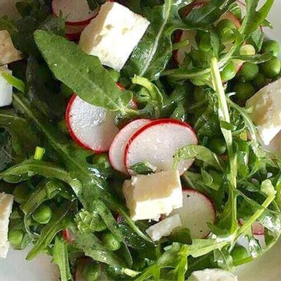 soofoodies greens and sirene salad salad