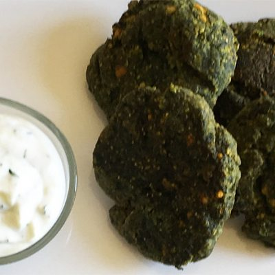 soofoodies spinach koftas appetizer