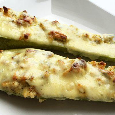 soofoodies stuffed zucchini boats main dish