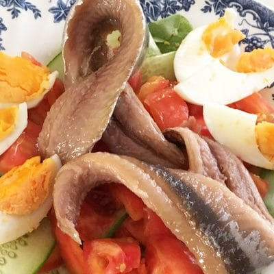 soofoodies marinated fish salad salad