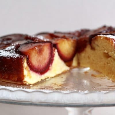 soofoodies plums cake dessert