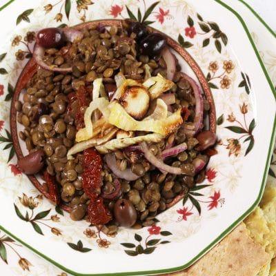 soofoodies flavorful lentils salad salad