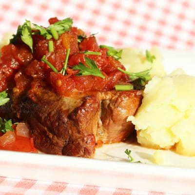 soofoodies juicy pork in wine sauce main dish